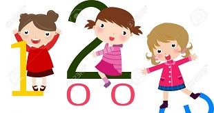 8887696-Illustration-of-three-girls-and-math-Stock-Vector-math-cartoon-kids